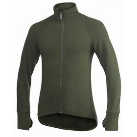 Woolpower Unisex 400 Full Zip Jacket pine green
